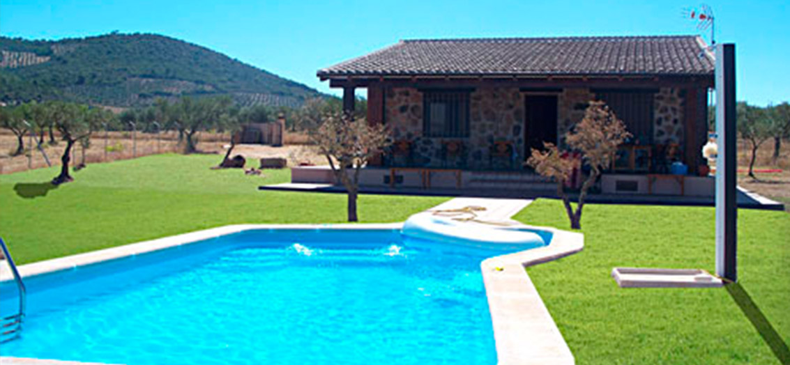 Maside piscinas for Casas con piscina baratas